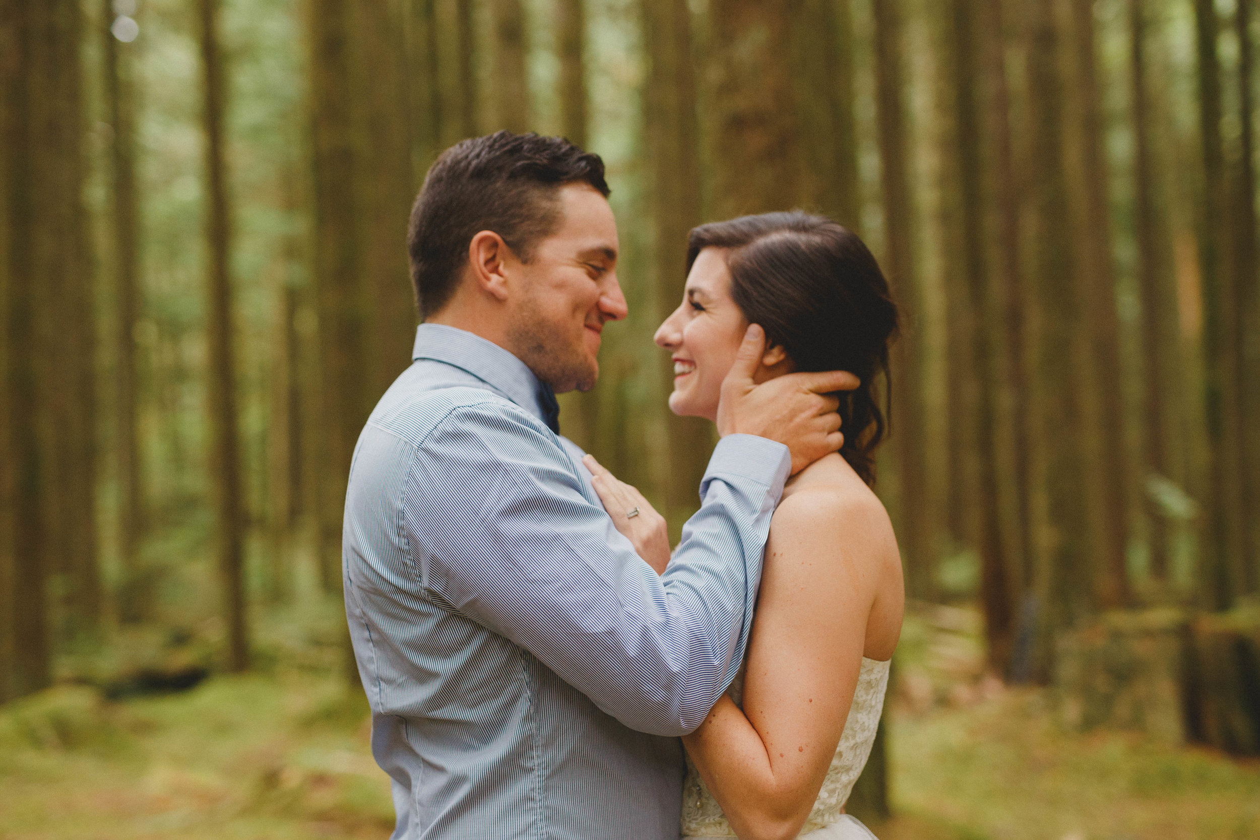 engagement session at maple ridge