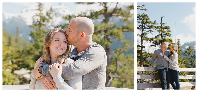 sea to sky gondola engagement photography
