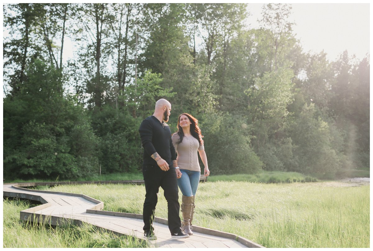 port moody engagement photography