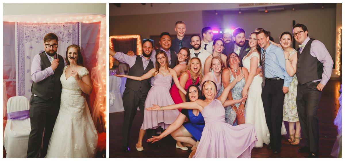 whonnock lake wedding reception