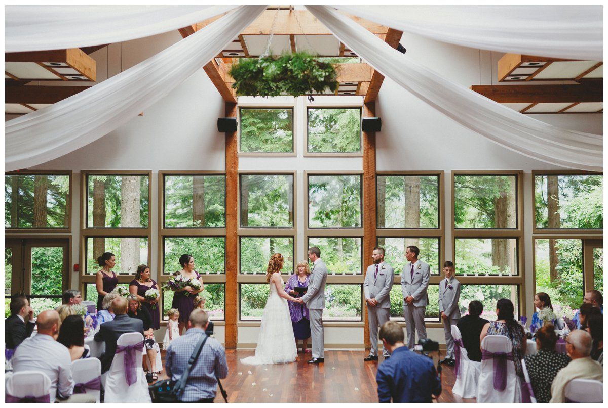 indoor ceremony whonnock