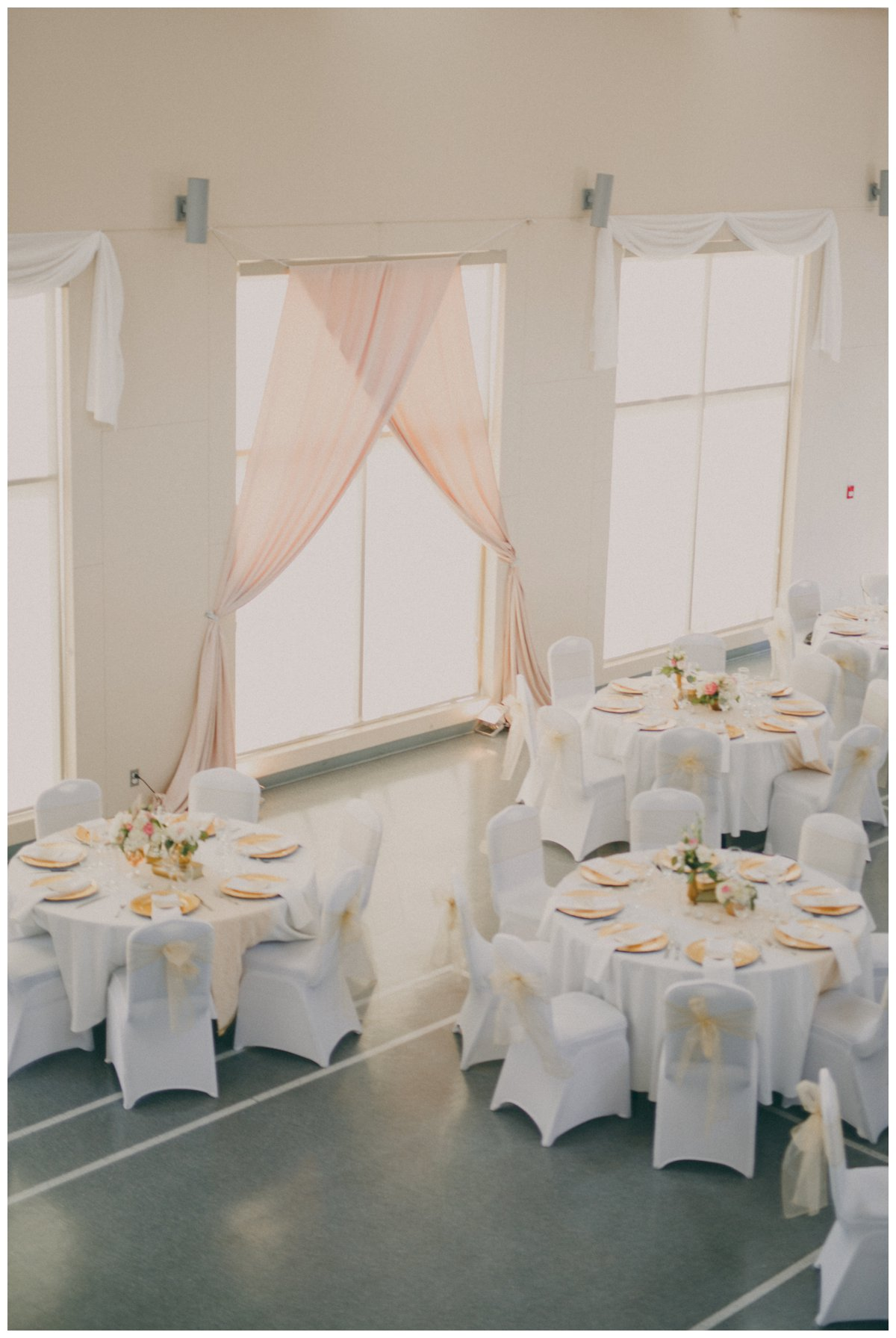 old orchard hall wedding decor