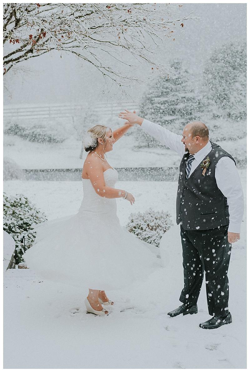 maple ridge winter wedding