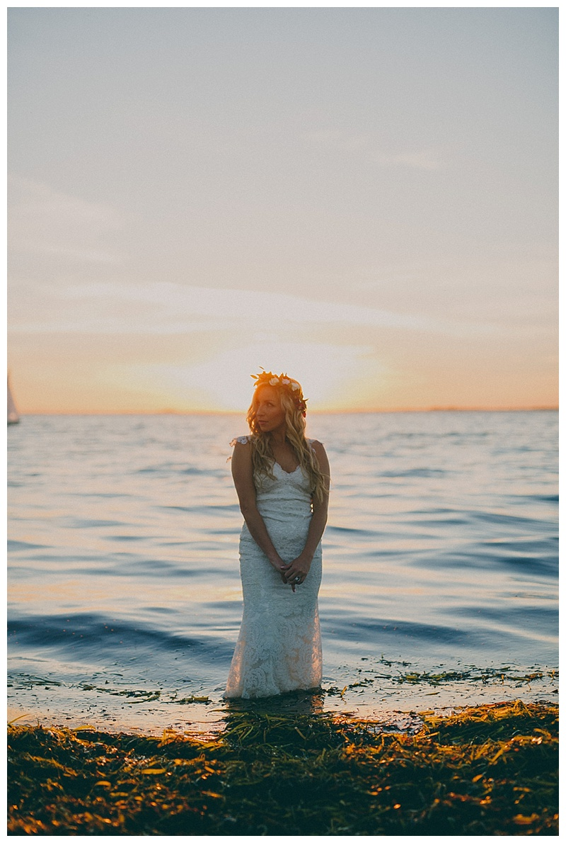 wedding photos at crescent beach