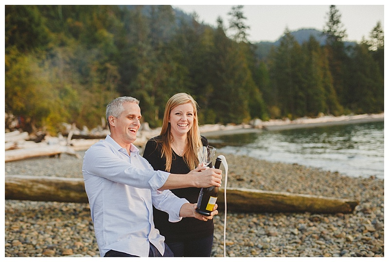 engagement photos at porteau cove