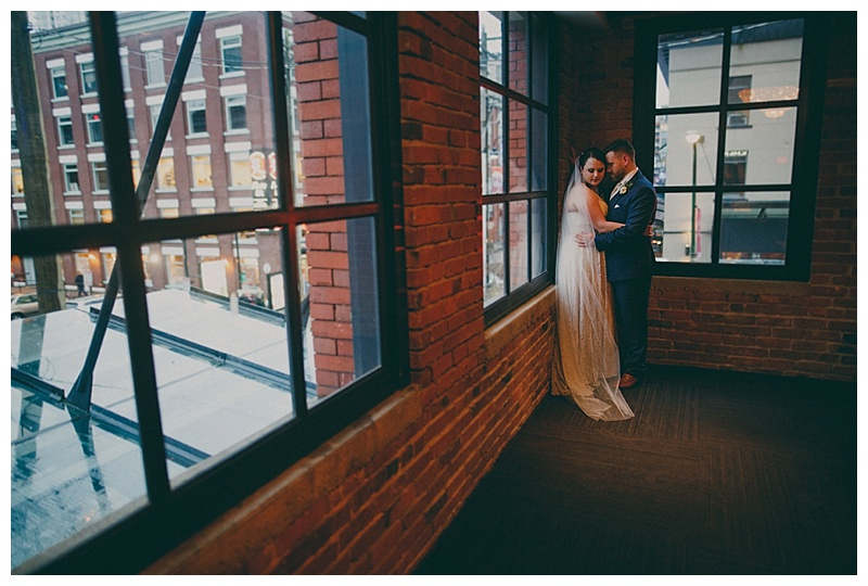 wedding at the loft at earls