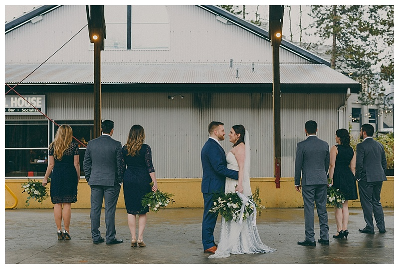 granville island wedding photos