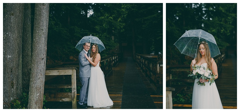 wedding photos at whonnock lake