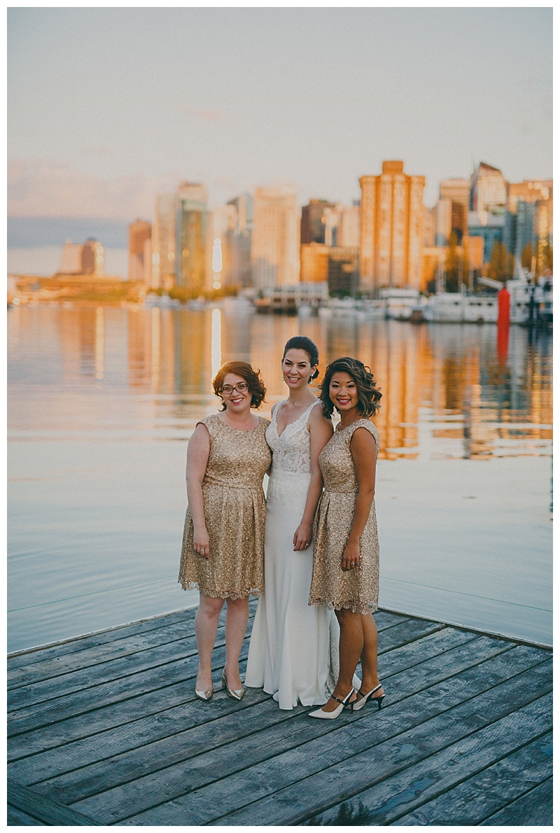 wedding photos at the vancouver rowing club
