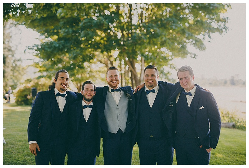 brock house wedding