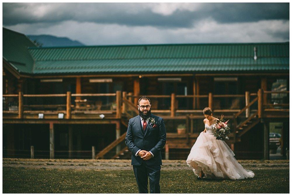 wedding at fraser river lodge