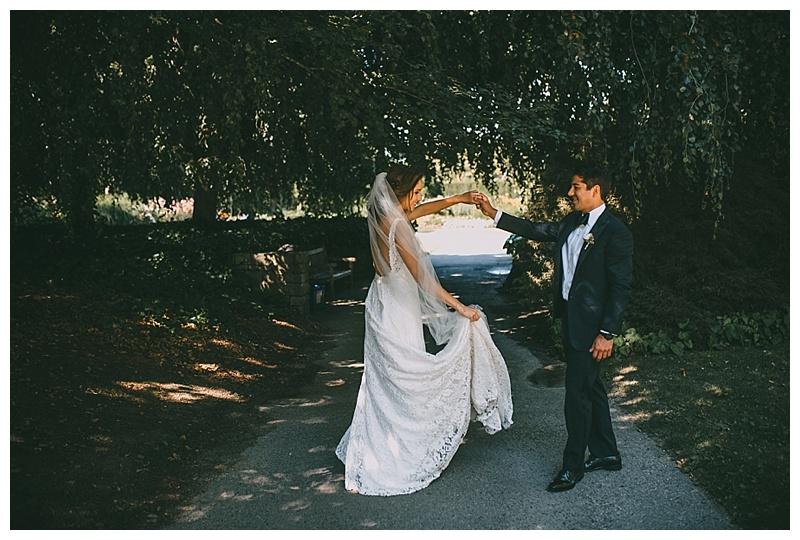 wedding at van dusen