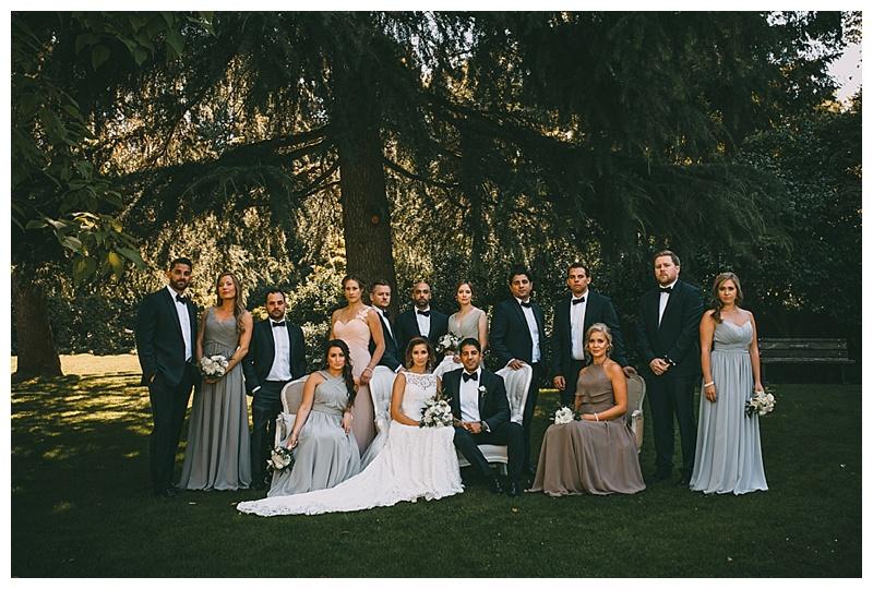 van dusen gardens wedding photographer