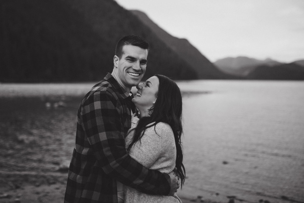 golden ears engagement session