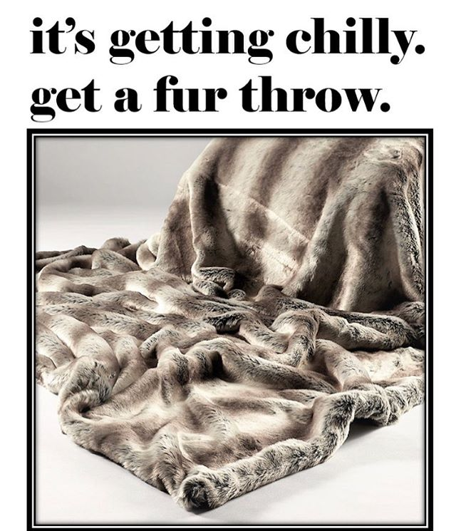 "In the showroom: Tissavel fur throws measuring a generous 60""x70"". Tissavel faux fur has been used by fashion houses Chanel and Fendi for their luxurious feel. Come by the showroom Monday-Friday Suite 1002 9-5pm and get cozy! #fauxfur #throw #interiordesign #losangeles #showroom #lamart #thereef #dtla"