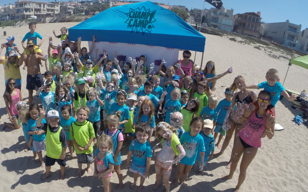 Champ CAMP! - play-based Kids Summer beach camps in Playa Del Rey, ManhattaN BEACH, and Redondo beacH!