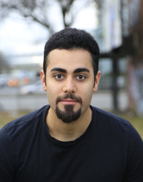 Arash Khakpour - Originally from Tehran, Arash Khakpour is a Canadian dancer, choreographer and instructor living in Vancouver since 2004. Arash is privileged to be a dance artist on the unceded Coast Salish territory. He is a graduate of Out Innerspace's Modus Operandi training program and has completed Cultch's Youth Mentorship program as well as the contact improvisation scholarship at EDAM under the direction of Peter Bingham. Arash had the privilege of working with Wen Wei Dance, Out Innerspace Dance Theatre, Kinesis Dance, Company 605, Constance Cooke (Victoria) and David McIntosh (Battery Opera) among many others. As an instructor, Arash has taught in numerous studios in BC. Arash has also taught workshops with Paras Terezakis (Director of Kinesis Dance) in Copenhagen, Denmark (2012) and Chambery, France (2013/2014). Arash is the co- founder of The Biting School alongside his brother Aryo Khakpour as well as the founder and co-host of a Canadian performance history podcast called 'How About A Time Machine'. Arash's desire is to see whether theatre can be a place, where the body investigates the alternate ways of being. He is interested in dance as the language in the theatre, which allows him to research about human conditions and human nature through historical, social, political and existential interpretations. At this event Arash Khakpour performed with Emmalena Fredriksson.