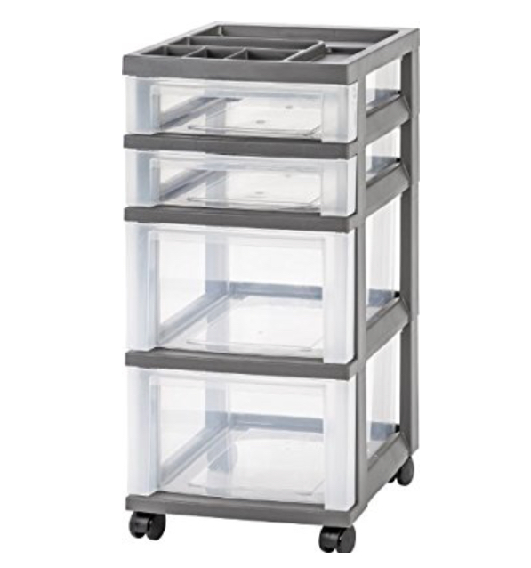 Shop Rolling Storages Cart at Amazon