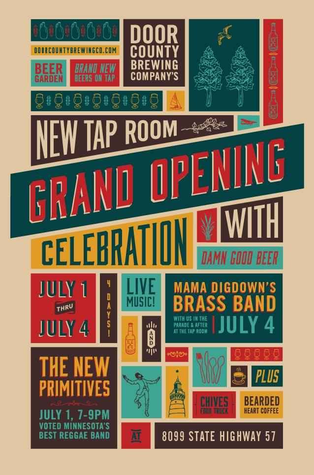 Our New Taproom is Officially Open!  sc 1 st  Door County Brewing Co. & News u0026 Events u2014 Door County Brewing Co.