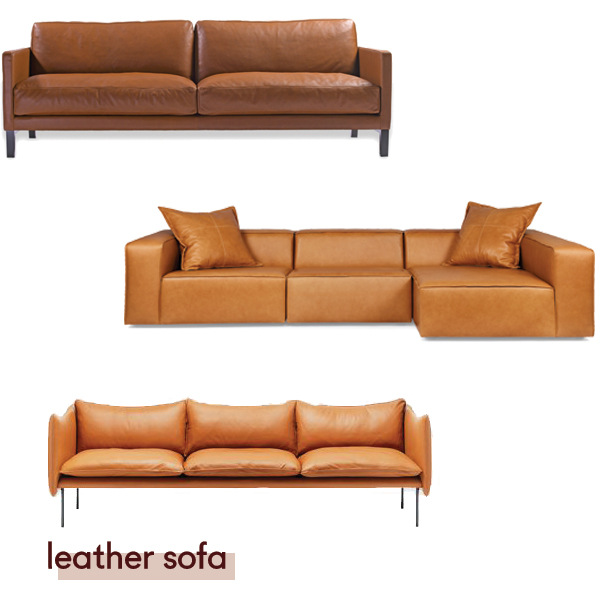 Centquatre sofa from  Domo , Dawson from  Arthur G , Tiki from  Fred International