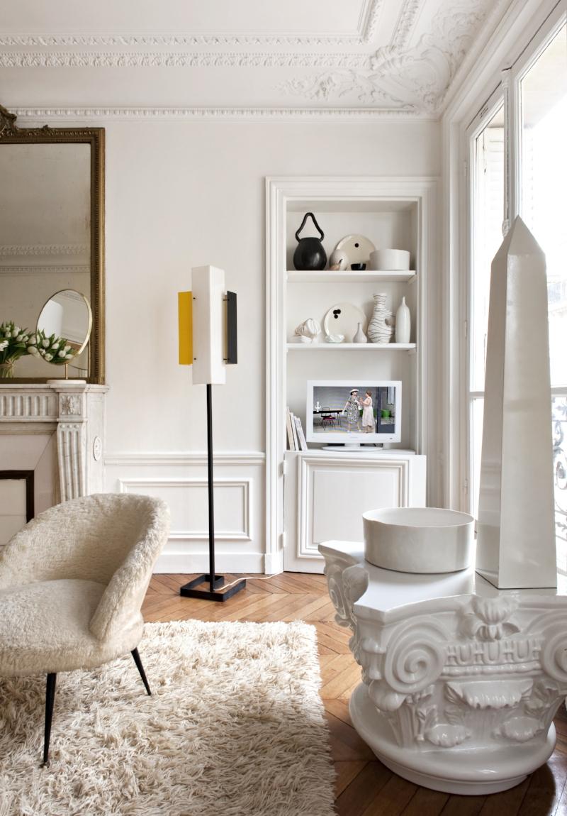 Apartment of designer  Emilie Bonaventure