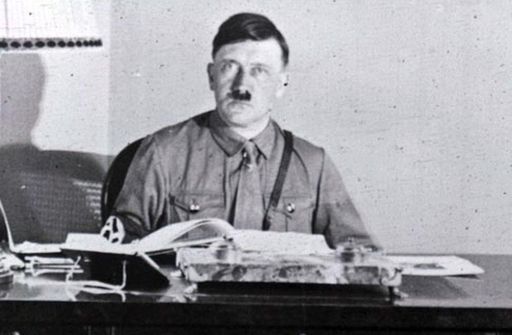 I wonder if Hitler had an open door policy...