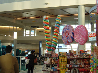 giant candy Dallas airport