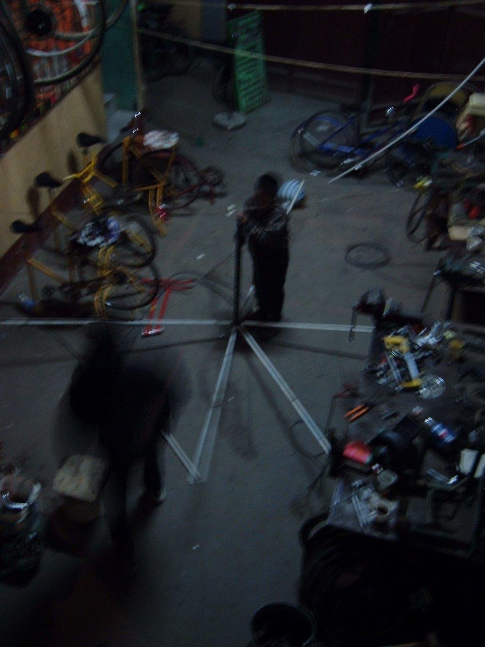 maya pedal shop floor