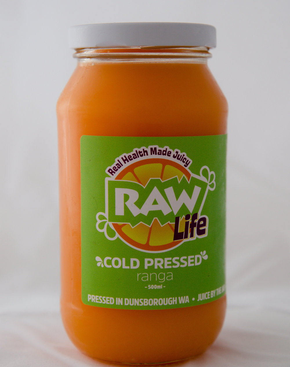 A vitamin C boost to give you some spring, with lemon and ginger to add in some zing. - Carrot, orange, lemon and ginger