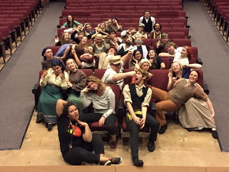 Montana Thespians joined the International Thespian Society and was established in 1973 under the direction of Lloyd Mickelson. -
