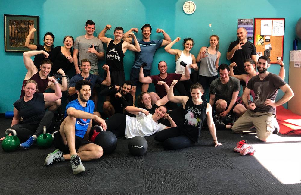 climbfit_stleonards_group_fitness_class