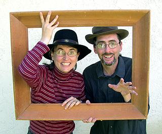 Patti Christensen & James Nelson-Lucas,                 The Patchwork Players - Story Theatre