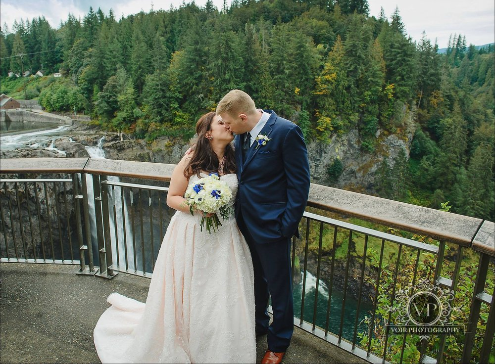 Marie & Brian - Salish Lodge | Voir Photography