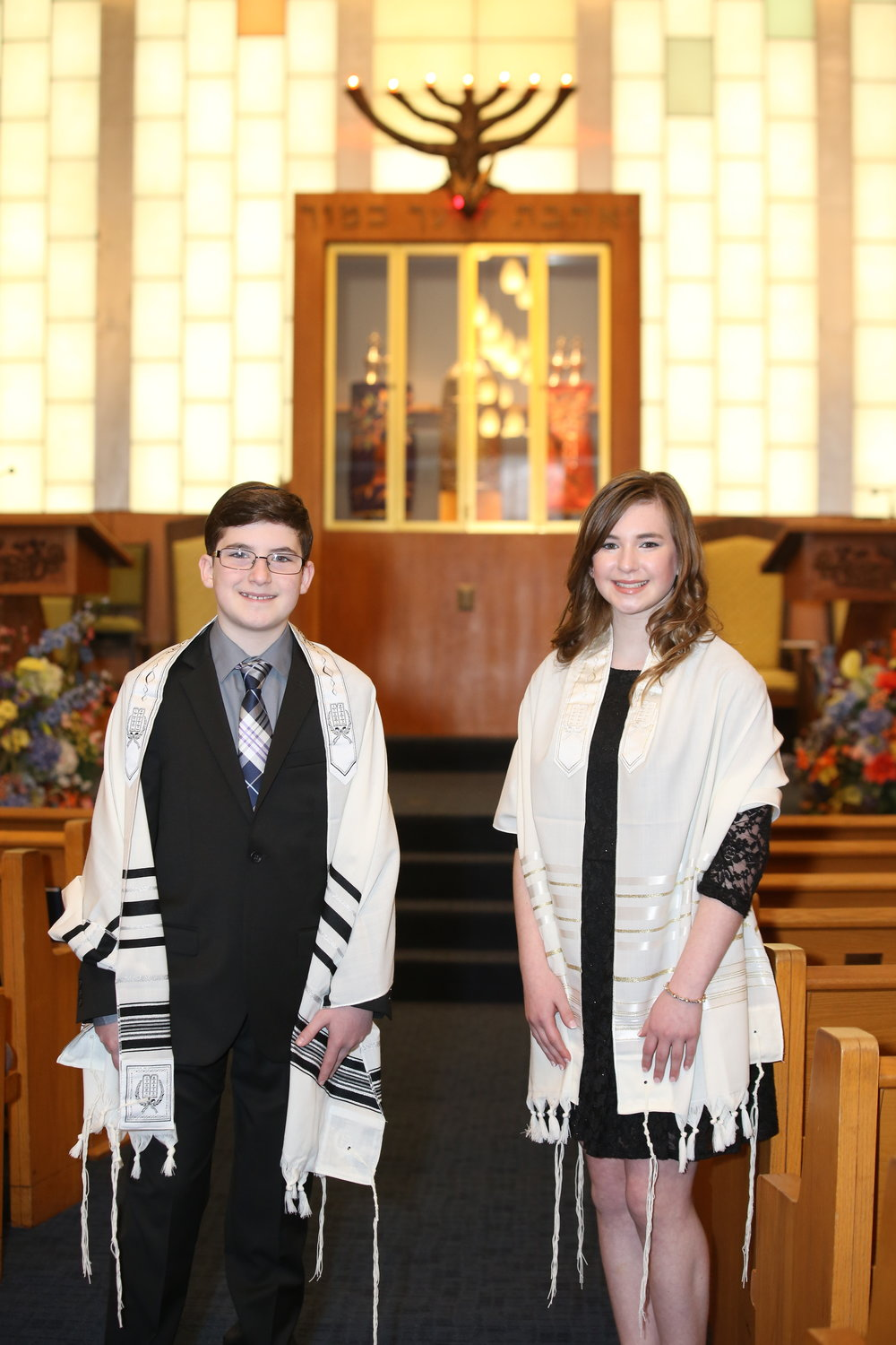 B'nai Mitzvah Service at Temple Israel of Northern Westchester, New York