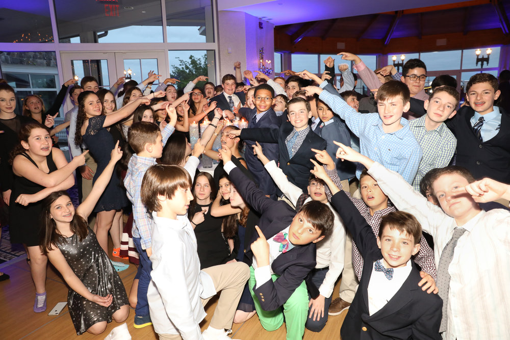 Candle Lighting Group shot @ Bar MItzvah