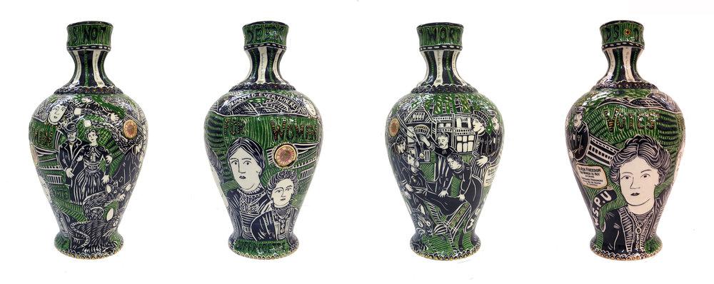 Katch Skinner Suffragettes