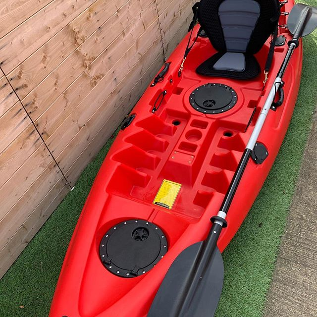 CHECK THIS OUT! - Limited offer 😮  We know this is not quite a SUP but we couldn't resist! These awesome sit on top kayaks come with a FREE Paddle and Seat and are just £360! 🤙  We have a very limited number in stock so it is a first come first serve basis, we also have this top quality kayak available in blue!  Send us a message for more details on how to get yours, and don't forget to tell your friends!⬇️⬇️⬇️