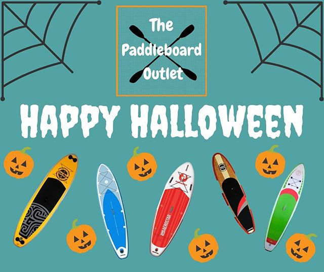 🏄♂️Happy Halloween From The Paddleboard Outlet!🎃 We hope everyone has a great evening, we're sure lots of you will be out out trick or treating! 🍭  Fancy showing off your costumes? Head over to our Facebook page now!