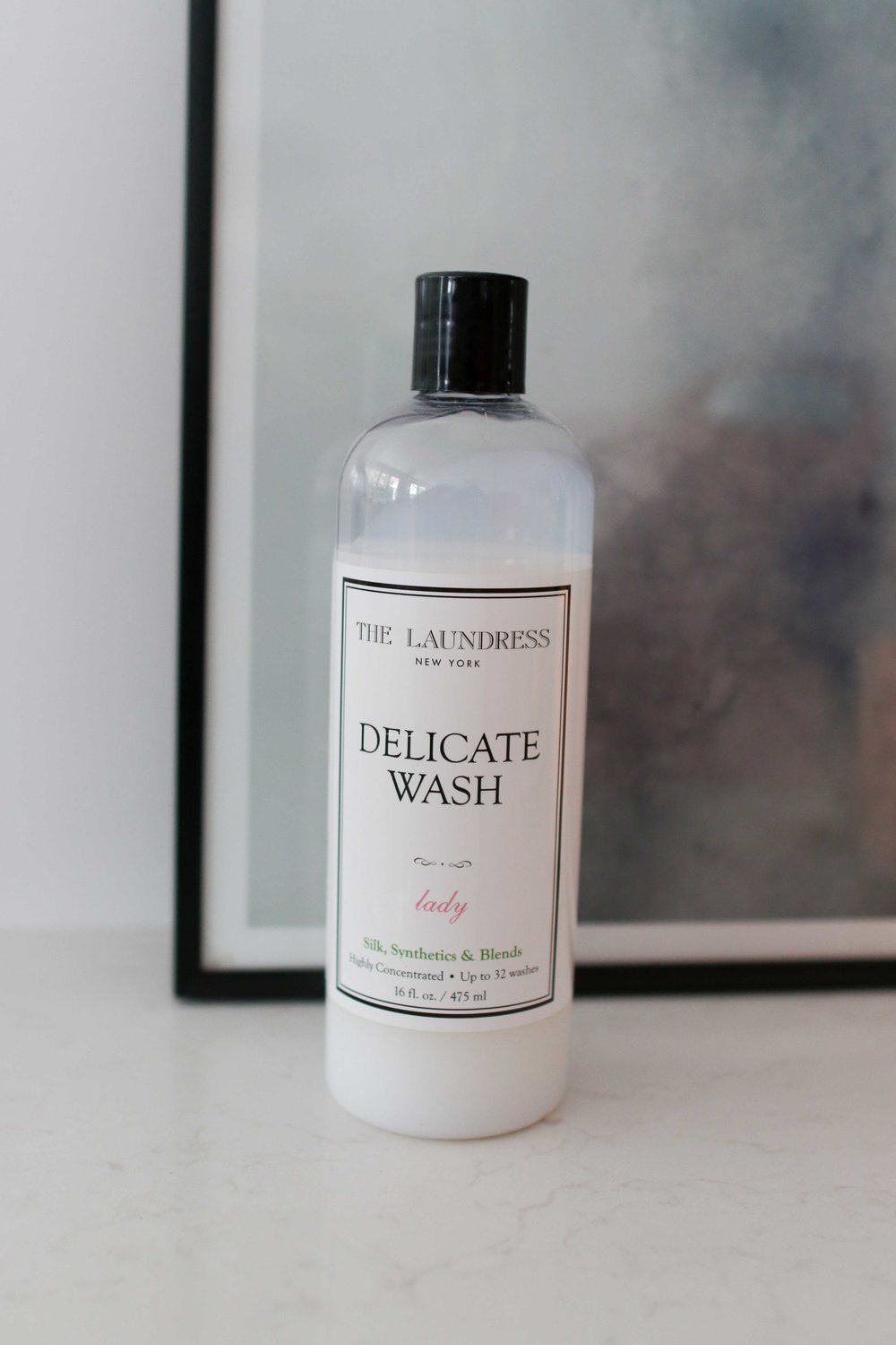I love - I love The Laundress' Delicate Wash for my silks. It is a bit more expensive than a regular washing liquid, however for my special pieces it is worth the splurge (you can buy it online straight from The Laundress in NYC or try Peters of Kensington or The Butlers Trading Company to purchase locally). I poor the liquid over the top of the clothes (rather than into any liquid dispenser built into the machine).