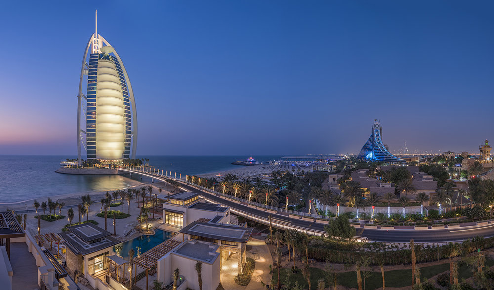 Burj Al Arab Panorama view