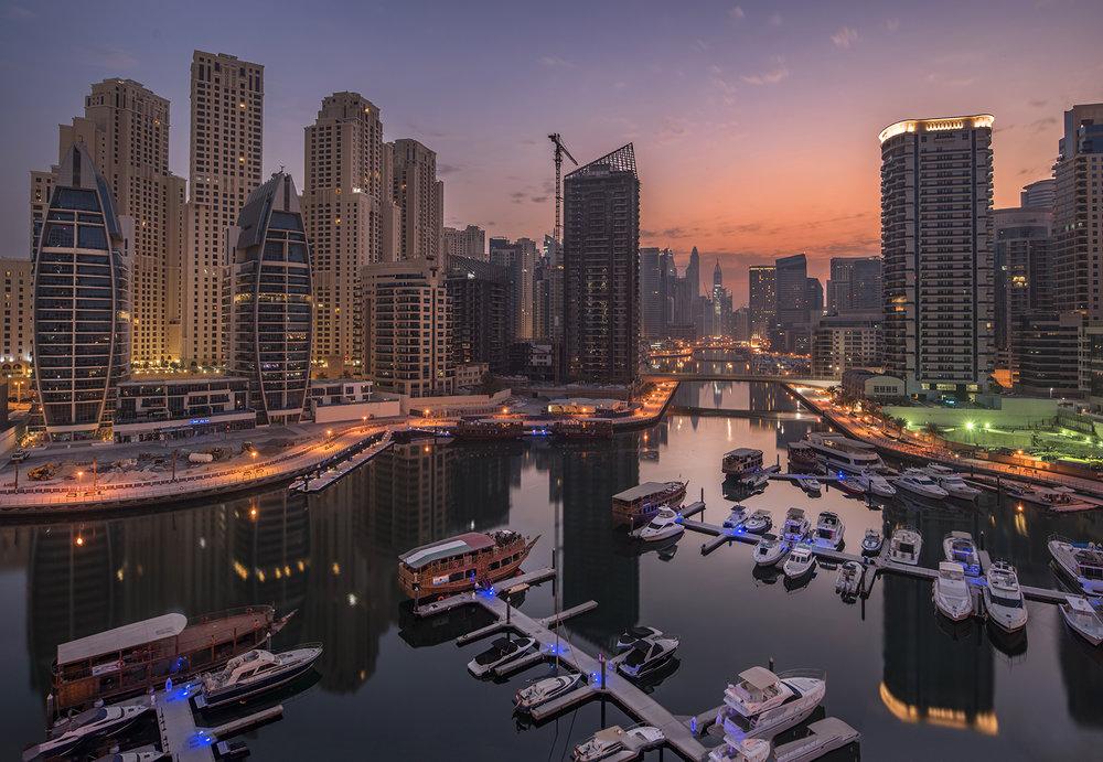 Dubai Marina Yacht Bay