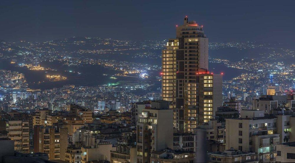 Beirut skylines