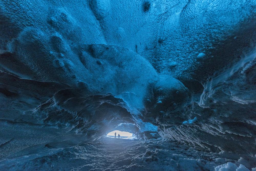 Iceland-Ice Cave-Travel-Landscape-Glacier