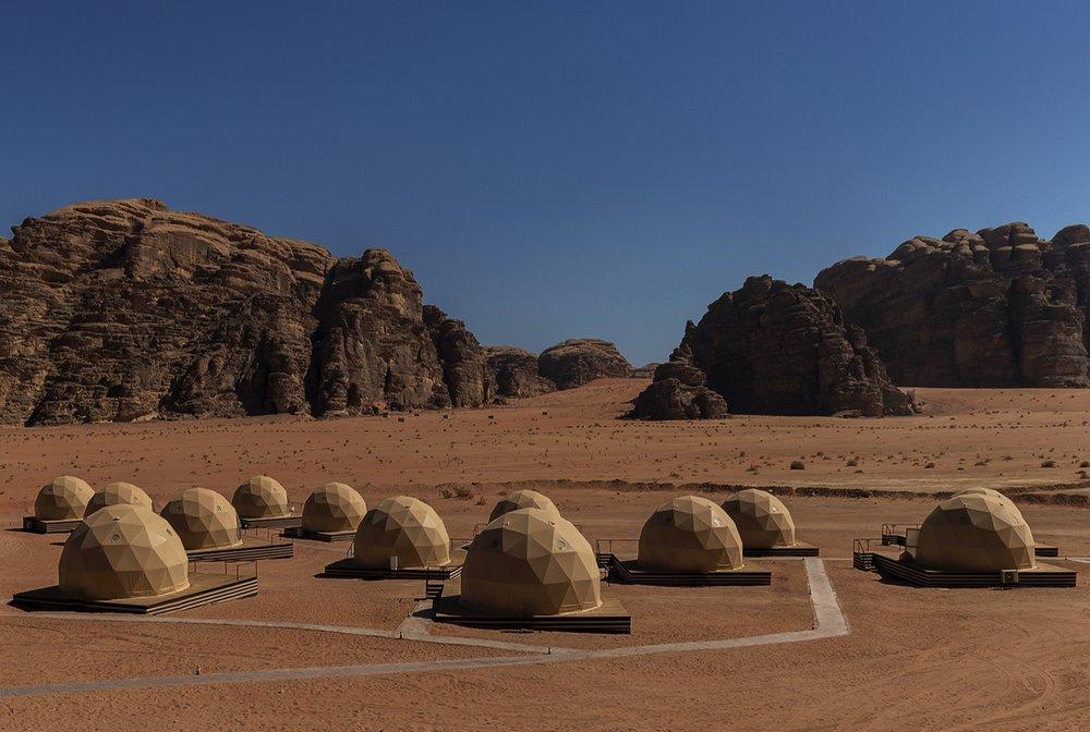 Sun city camp in Wadi Rum