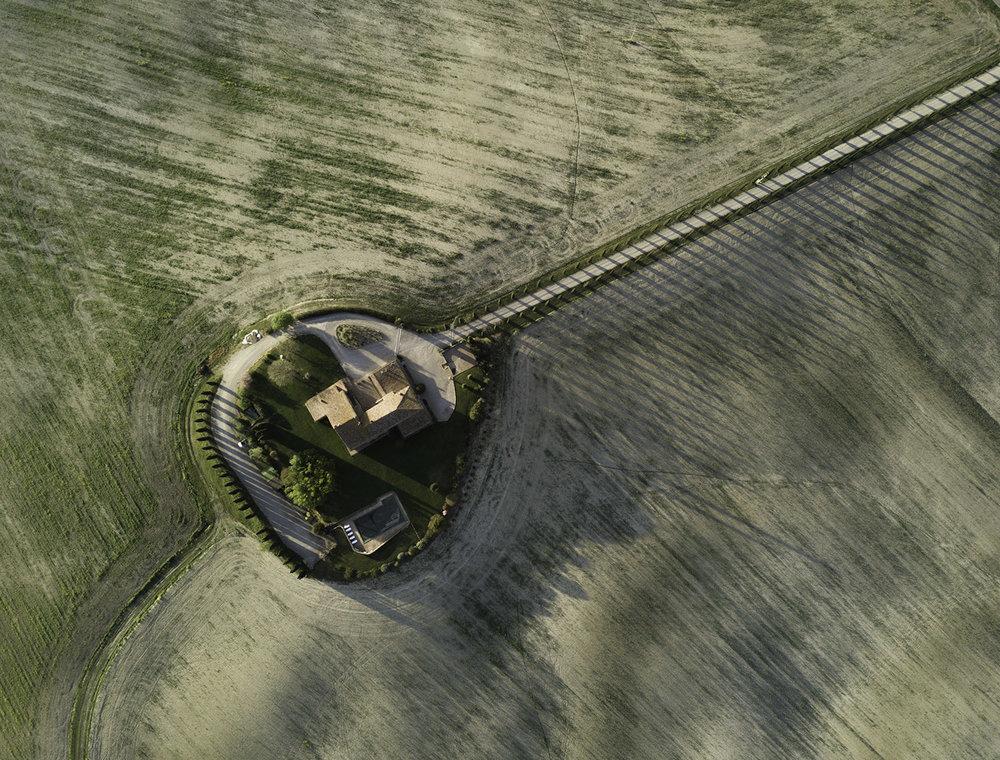 Poggio Covili aerial view