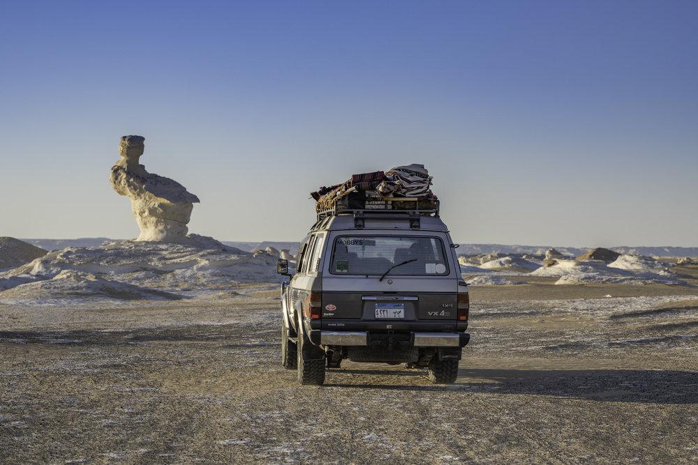 4x4 adventure at the white desert