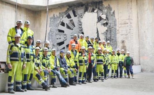 Breaktrhrough for Belgiums largest transport project