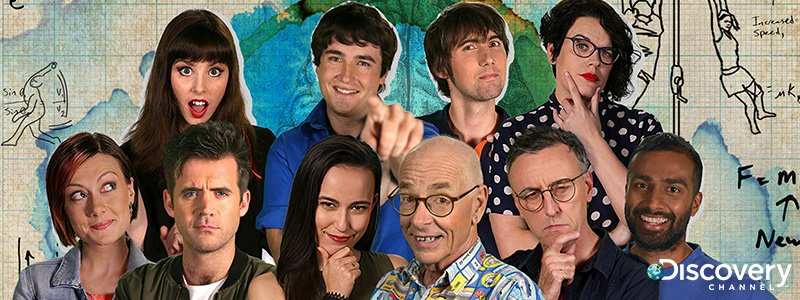 Discovery Channel Dr Karl's Outrageous Acts of Science Naomi Koh Belic