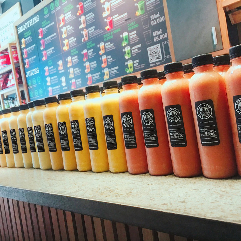 SMOOTHIE FACTORY    JUICES, SMOOTHIES AND SALADS