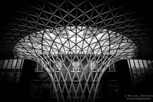 The new roof at King's Cross
